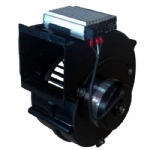 EC centrifugal blower with brushless DC motor
